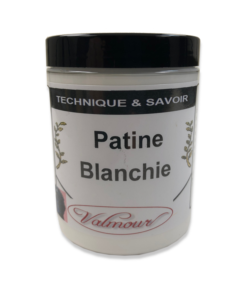 PATINE BLANCHIE A L'ANCIENNE OXEBO LOUIS XIII