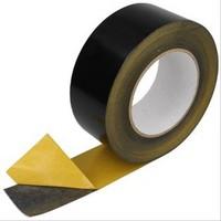 TAPE SOLAIRE PVC EXTÉRIEUR. ROULEAU DE 50MM X 10M NOIR