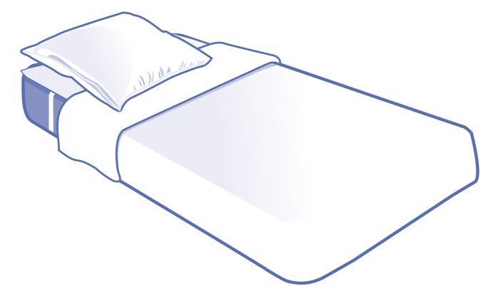 kit literie jetable complet plateau pour lit 1 place 90x190cm unit s comparer les prix de. Black Bedroom Furniture Sets. Home Design Ideas