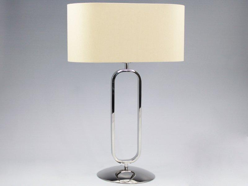 LAMPE EN MÉTAL.