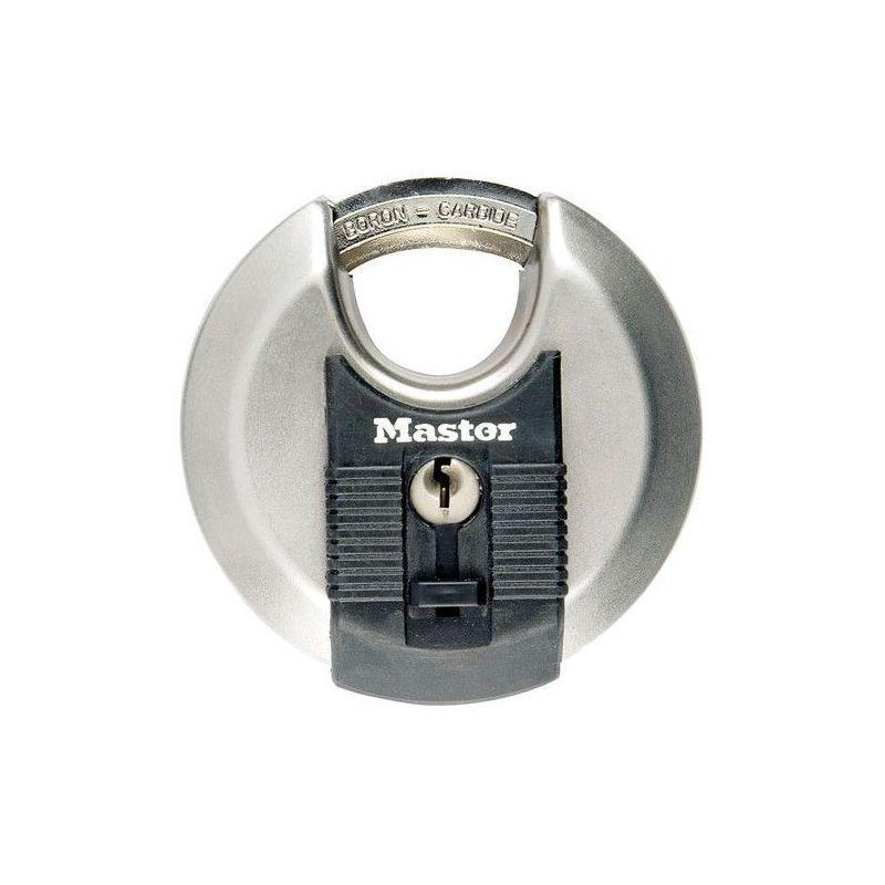 CADENAS EXCELL ROND 70MM INOX SC (VENDU PAR 1) - MASTER LOCK