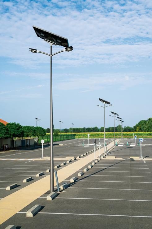 Lampadaires solaires pour l 39 eclairage public tous les for Achat eclairage exterieur