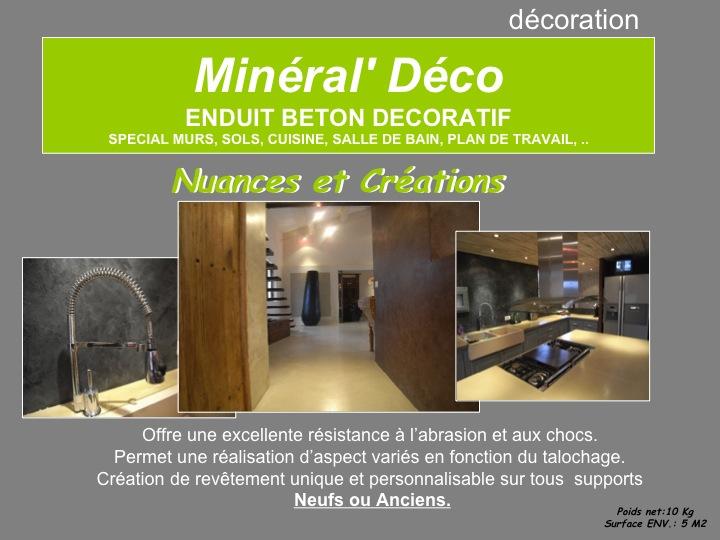 mineral deco beton cire. Black Bedroom Furniture Sets. Home Design Ideas