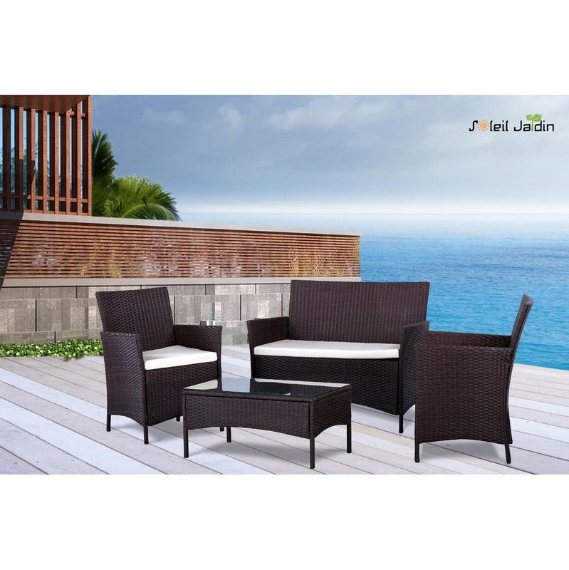salon de jardin soleil jardin achat vente de salon de. Black Bedroom Furniture Sets. Home Design Ideas