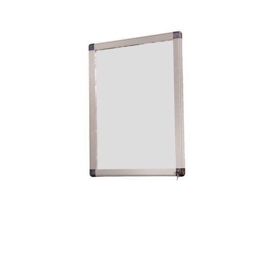 vitrine d 39 ext rieur antares l 39 italienne fond aluminium porte en verre de s curit comparer. Black Bedroom Furniture Sets. Home Design Ideas