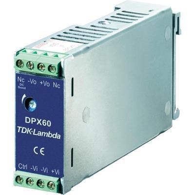 CONVERTISSEUR DC/DC POUR RAIL DIN 12 V/DC 5000 MA 60 W TDK-LAMBDA DPX-60-24S-12