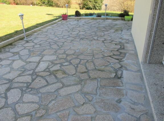 Dalles Opus Incertum Et Vielles Dalles En Granit