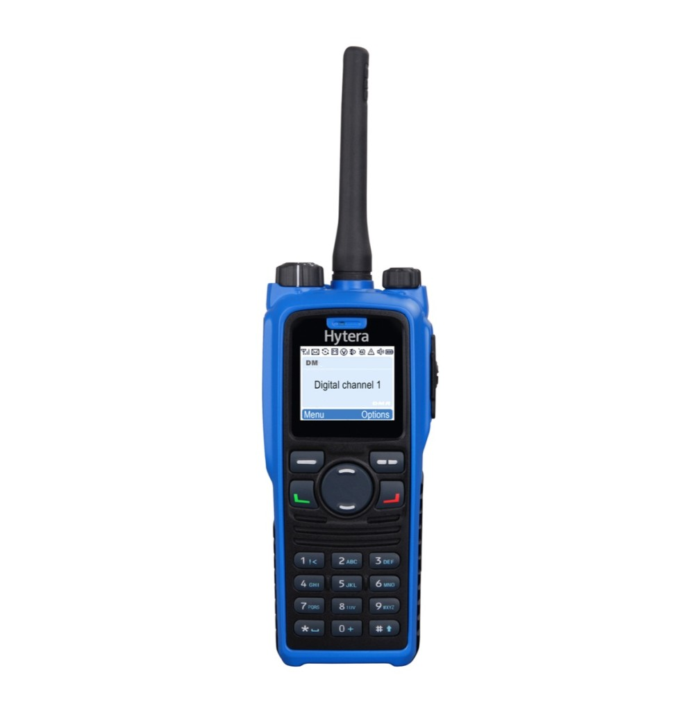 Pd795 pti atex: radio uhf atex