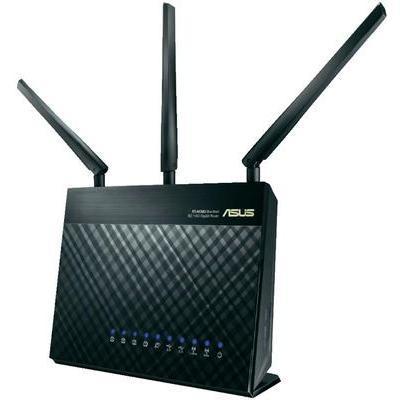 ROUTEUR WIFI ASUS RT-AC68U 1.9 GBIT/S 2.4 GHZ, 5 GHZ
