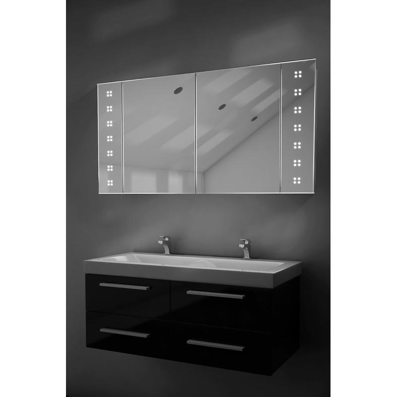 Mobiliers de salle de bain diamond x collection achat - Armoire de toilette avec prise de courant ...