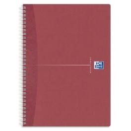 Cahier spirale oxford office a4 petits carreaux 180 pages 90 gr comparer les prix de cahier - Cahier oxford office book ...