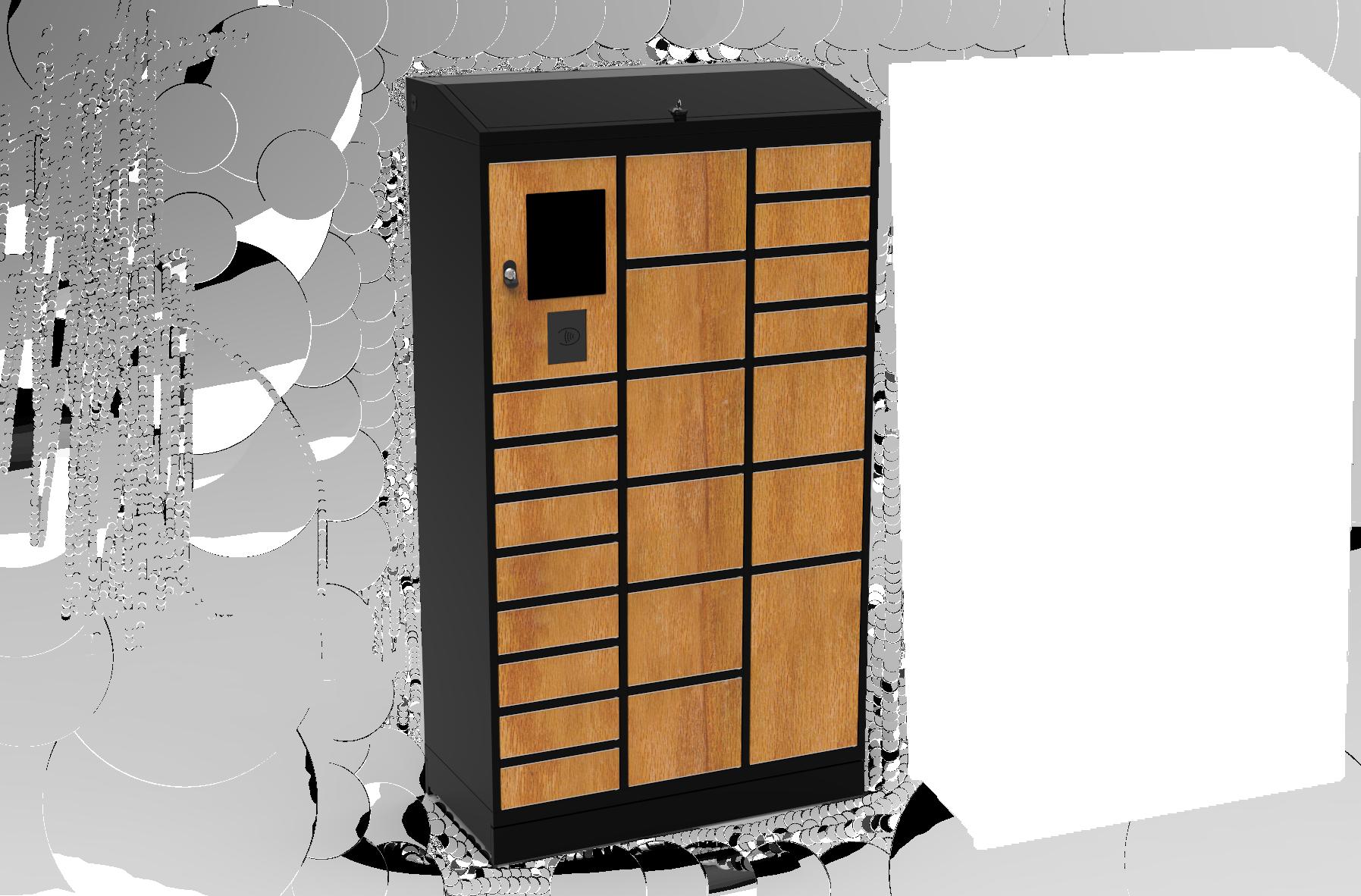Distributeur sécurisé lockerbox office