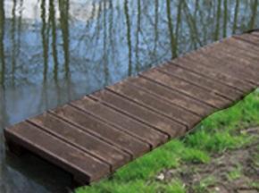 Espace creatic produits de la categorie pontons for Plancher exterieur plastique