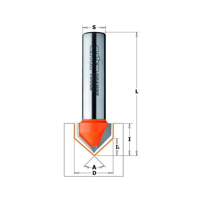CMT Orange Tools 240,060,06 m scie circulaire /à rainer 150 x 30 x 6 z 12