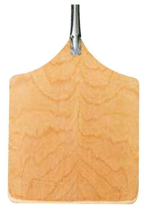pelle a pain 45x55 en bois avec embout inox o 3 cm. Black Bedroom Furniture Sets. Home Design Ideas