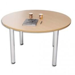 Prix table tulipe ronde plateau en verre table de salle for Table ronde pied tulipe