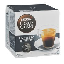 CAFÉ NESCAFÉ ESPRESSO INTENSO CAPSULE POUR DOLCE GUSTO - BOÎTE DE 16