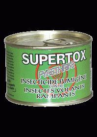 INSECTICIDE FUMIGENE SUPERTOX - 015.SI01001