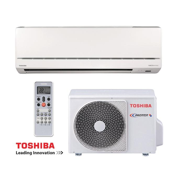 pompe a chaleur monosplit toshiba avant inverter 2 5kw. Black Bedroom Furniture Sets. Home Design Ideas