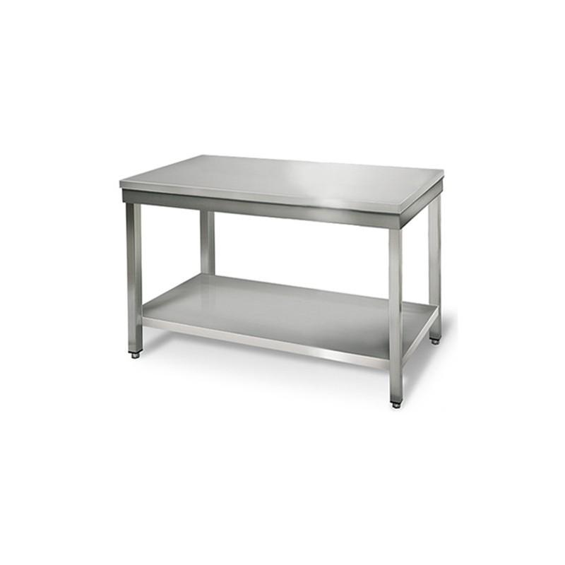 Materiel resto ness produits de la categorie table en inox for Table evier inox professionnel
