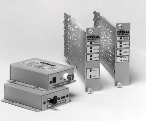 Vm201 - convertisseur vidéo + audio / fibre optique