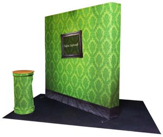 Stand parapluie pliable avec visuel en textile for Stand parapluie paris