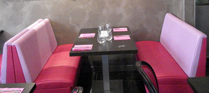 banquette bar ou restaurant. Black Bedroom Furniture Sets. Home Design Ideas
