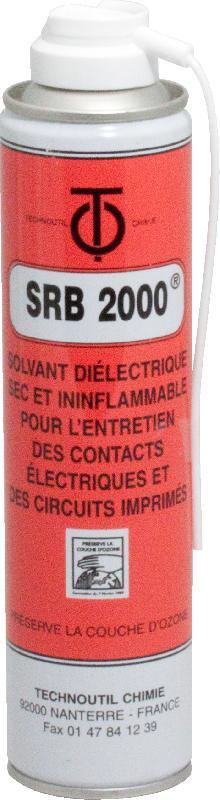 BOMBE NETTOYANT DIÉLECTRIQUE SEC SRB 2000 / QTÉ 405 ML
