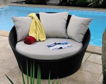 Canapé de jardin - loveuse cancun