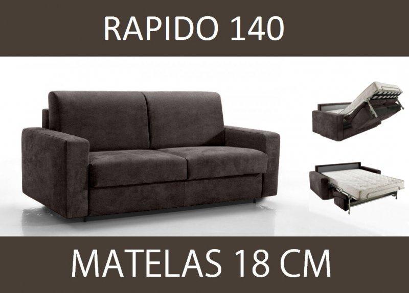 Canape lit 3 places master convertible ouverture rapido - Canape microfibre taupe ...