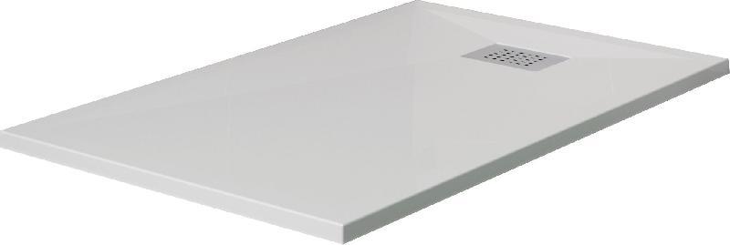 RECEVEUR KINESURF EXTRA-PLAT - RECTANGULAIRE - 150 X 90 CM - BLANC