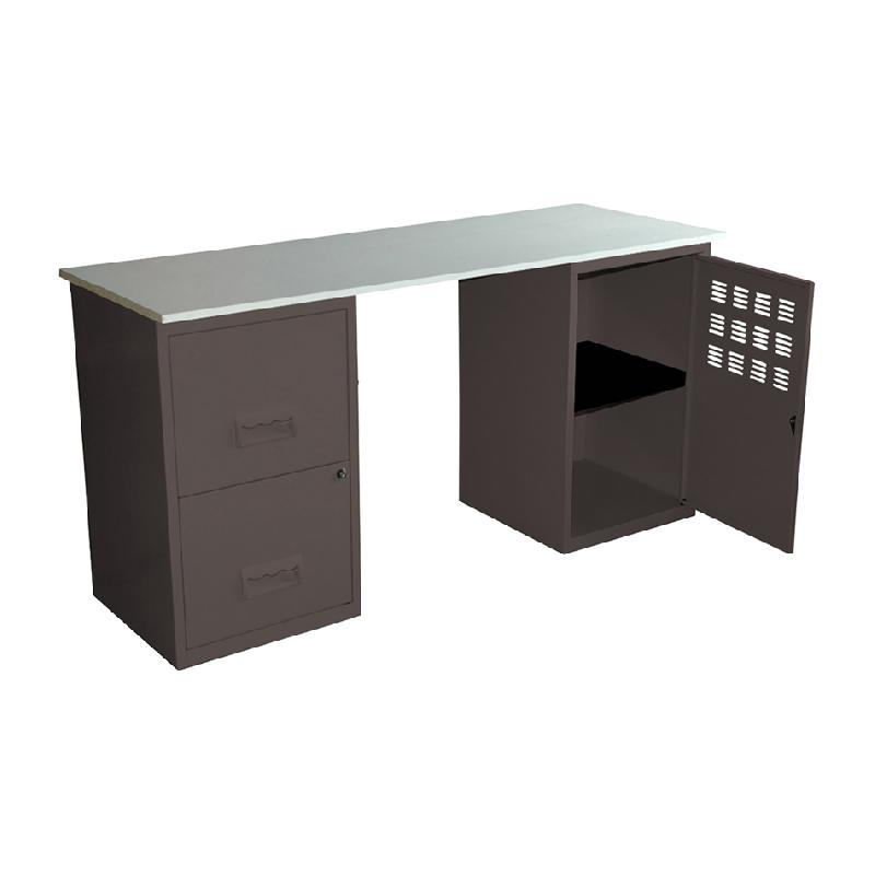 bureau droit bureau droit urban achat bureaux droits 275 00 bureau droit bois clair adopte un. Black Bedroom Furniture Sets. Home Design Ideas