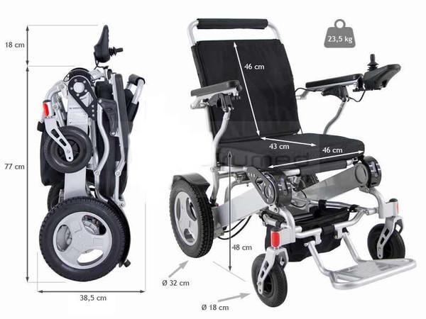 fauteuil handicape pliable. Black Bedroom Furniture Sets. Home Design Ideas