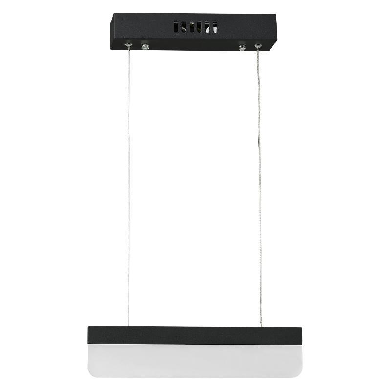 Lampe à suspension led chrome noir slim blanc noir 03_0002567