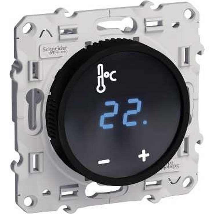 thermostat lectronique comparez les prix pour. Black Bedroom Furniture Sets. Home Design Ideas