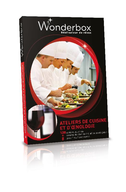 wonderbox multipass - produits de la categorie coffrets gastronomiques - Coffret Cadeau Cours De Cuisine