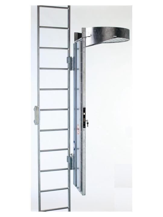 Echelle fixe de securite cec 400 - Escalier fixe au mur ...