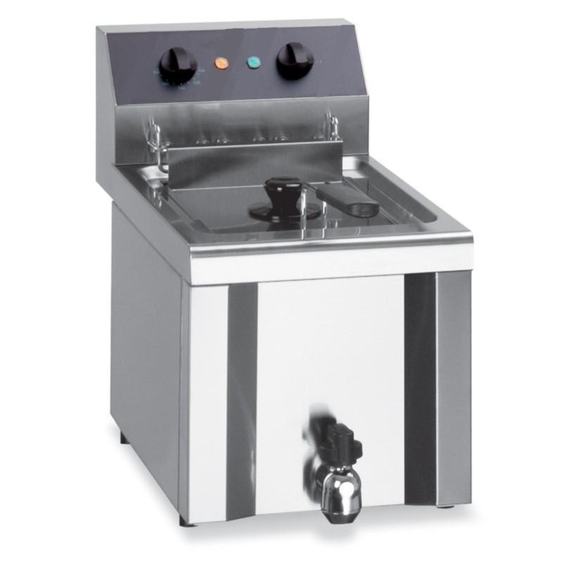 Friteuse professionnelle électrique de table 1 bac 9 litres - e313