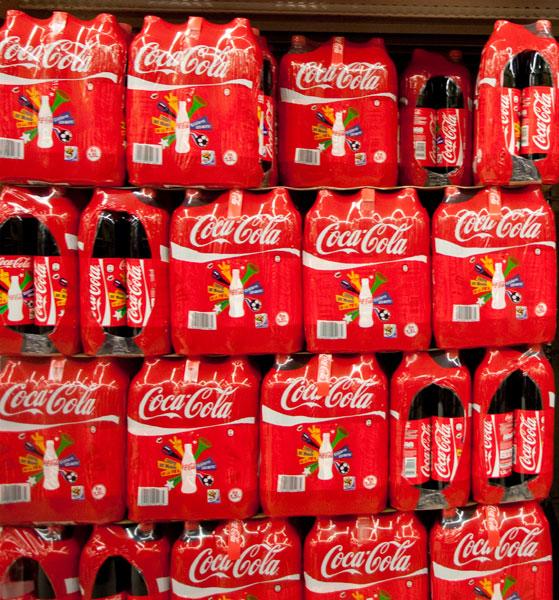Palettes coca cola