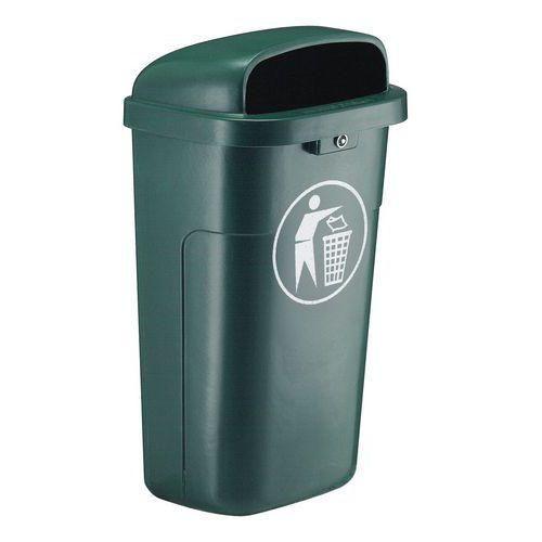 Poubelle verte tous les fournisseurs de poubelle verte for Poubelle plastique exterieur