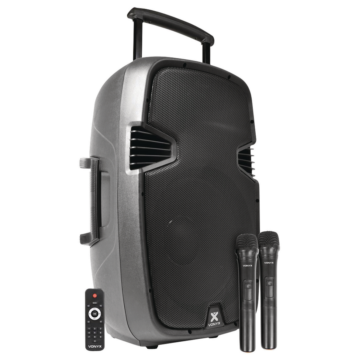 SYSTÈME ACTIF PORTABLE ABS 15 2 VHF/USB/MP3 - SPJ-PA915