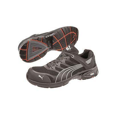 nouveau produit 30496 c68e5 Chaussures de sécurité basses fuse motion black puma safety