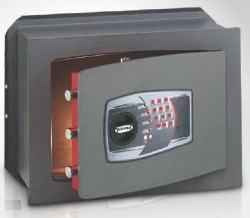 coffre fort encastrable serrure lectronique technomax dt. Black Bedroom Furniture Sets. Home Design Ideas