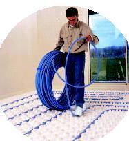 Plancher chauffant et rafraîchissant hydraulique - thermacome®
