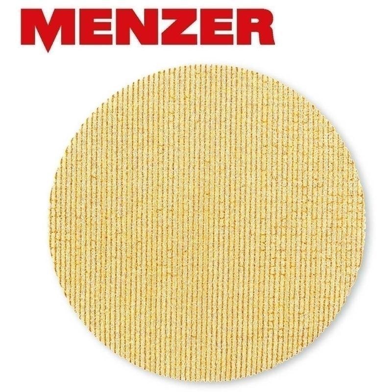 5 ULTRANET® GRILLES ABRASIVES MENZER P. PONCEUSES GIRAFES, Ø 225 MM / AUCUNE TROUS / G180 / CORINDON AFFINÉ