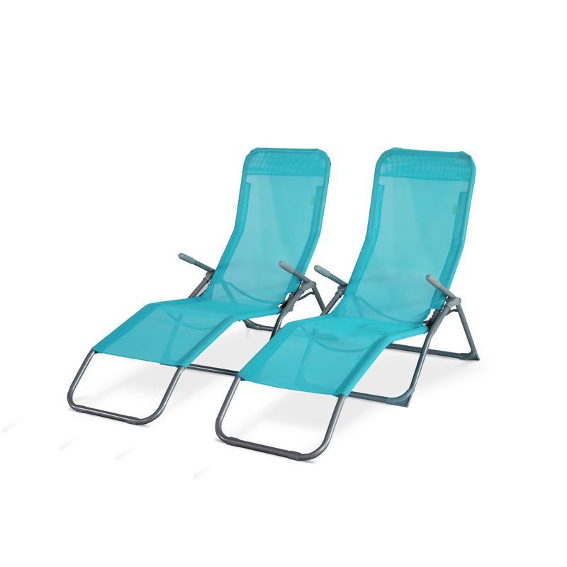 Chaise longue en acier tous les fournisseurs de chaise for Chaises longues pliables