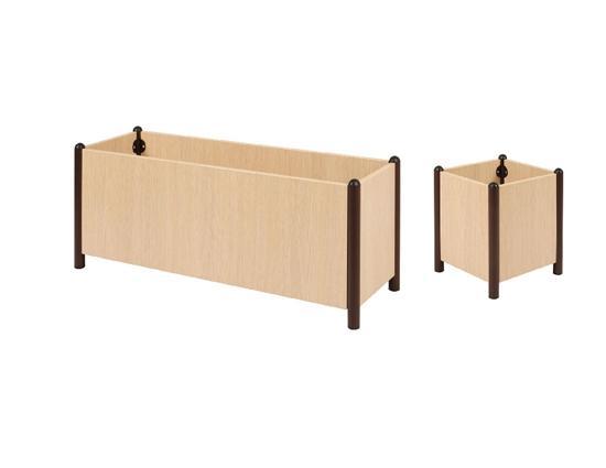grand bac fleur pour terrasse bacs fleurs en cumaru with. Black Bedroom Furniture Sets. Home Design Ideas
