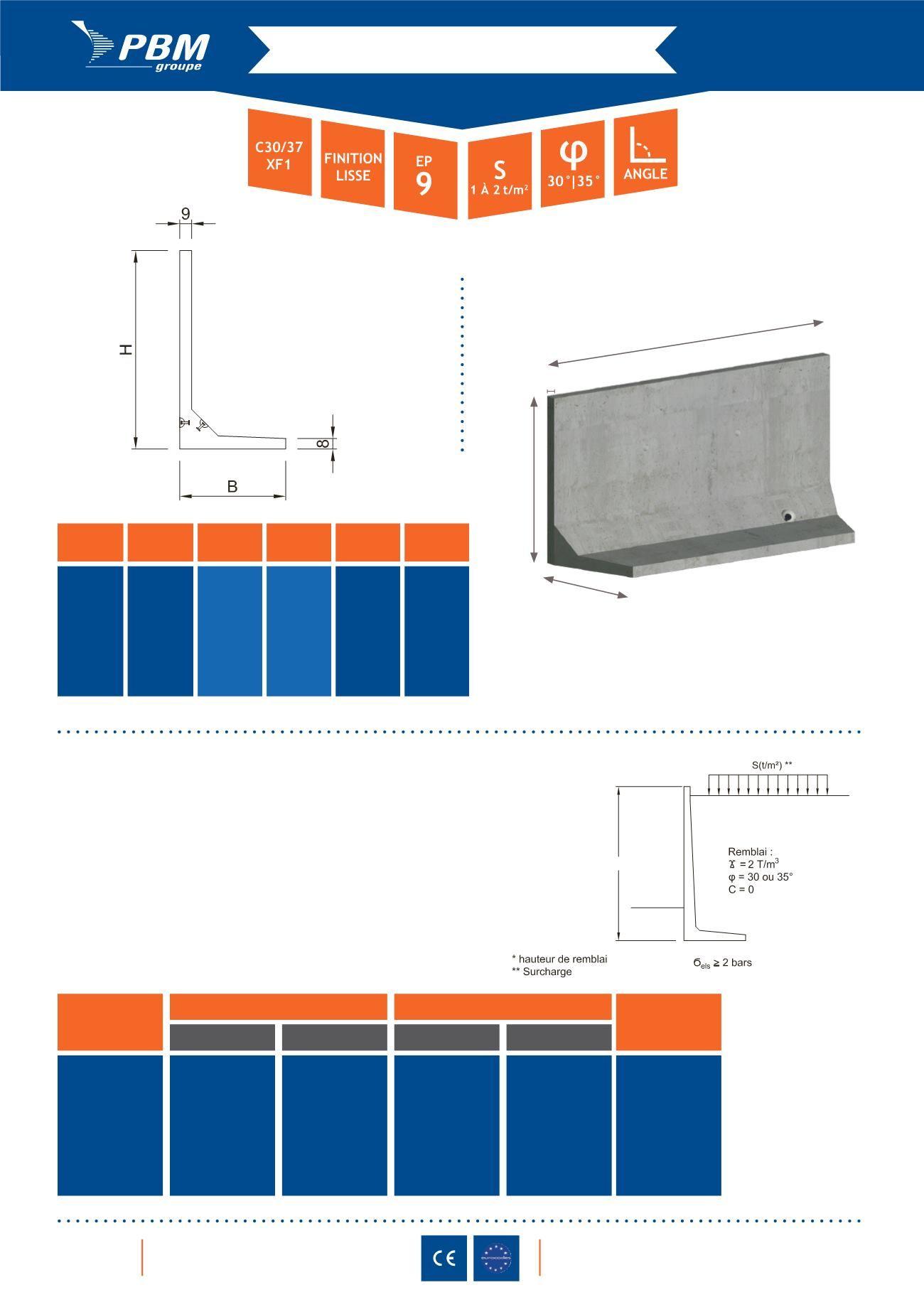 l beton soutenement prix amazing mur soutnement bton prfabriqu prix mars of mur soutnement bton. Black Bedroom Furniture Sets. Home Design Ideas