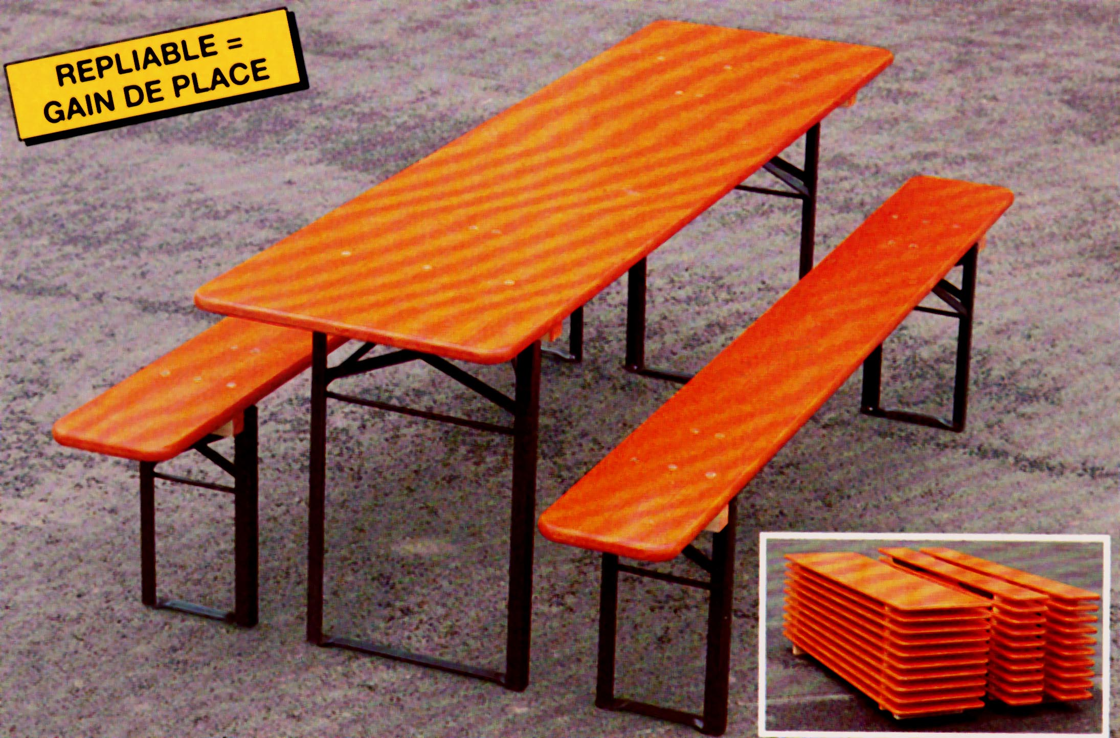 Tables Et Bancs Pliants