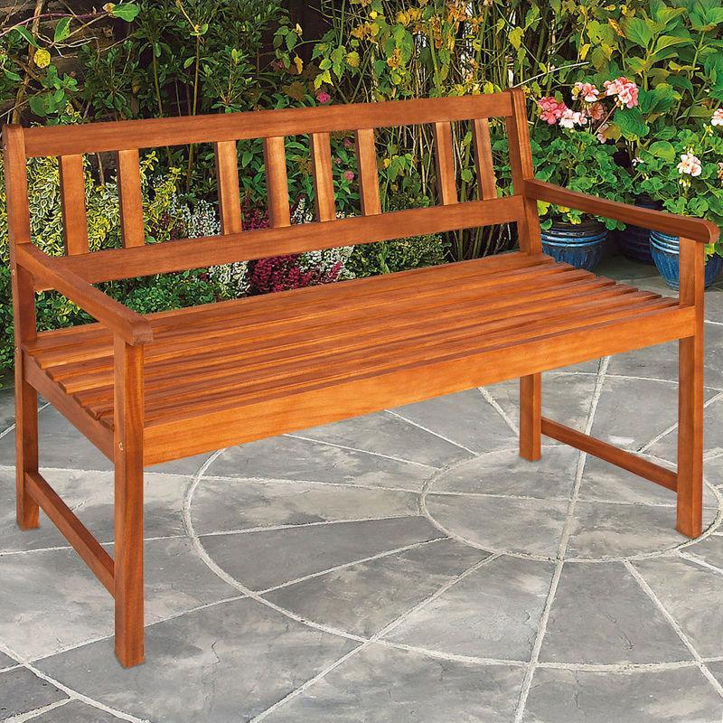 banc de jardin en bois angel 120 cm zoopet comparer les prix de banc de jardin en bois angel. Black Bedroom Furniture Sets. Home Design Ideas